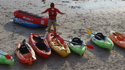Alquiler Kayak en Caión