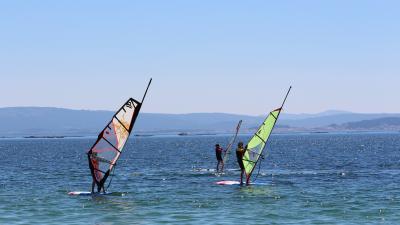 Windsurf en Ribeira
