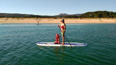 Paddlesurf en Ribeira