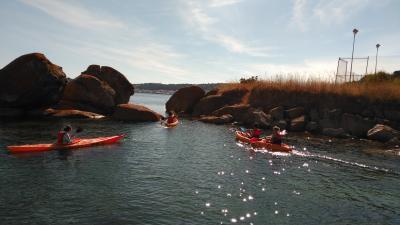 Kayak en Ribeira