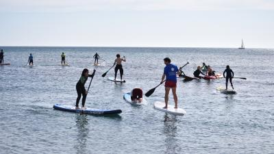 Actividades de Stand Up Paddle (SUP) - Paddle Surf y Kayak