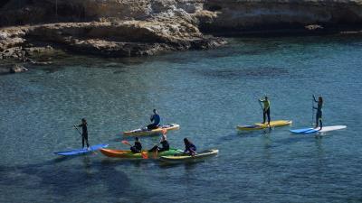 Alquiler de material de paddle surf o kayak