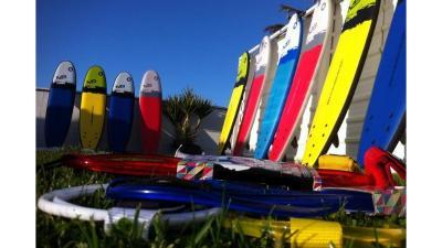 Alquiler de material de surf en Barrañan, Arteixo, A Coruña.