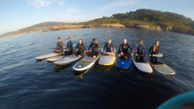 Alquiler de material de paddle surf Barrañan, Arteixo, A Coruña.