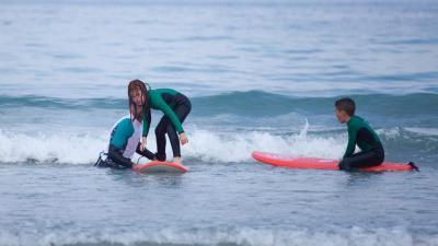 Escuela de Surf Paddle surf en Coruña, Galicia