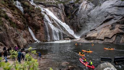 Ruta en Kayak a La Cascada de Ézaro