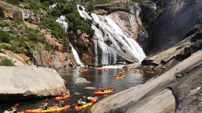 Ruta en Kayak a La Cascada de Ézaro (con picnic)